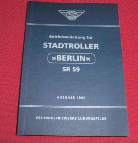 68 immagini 1960 con 120 pagine Savelletri Manuale di istruzioni sr59 Berlin