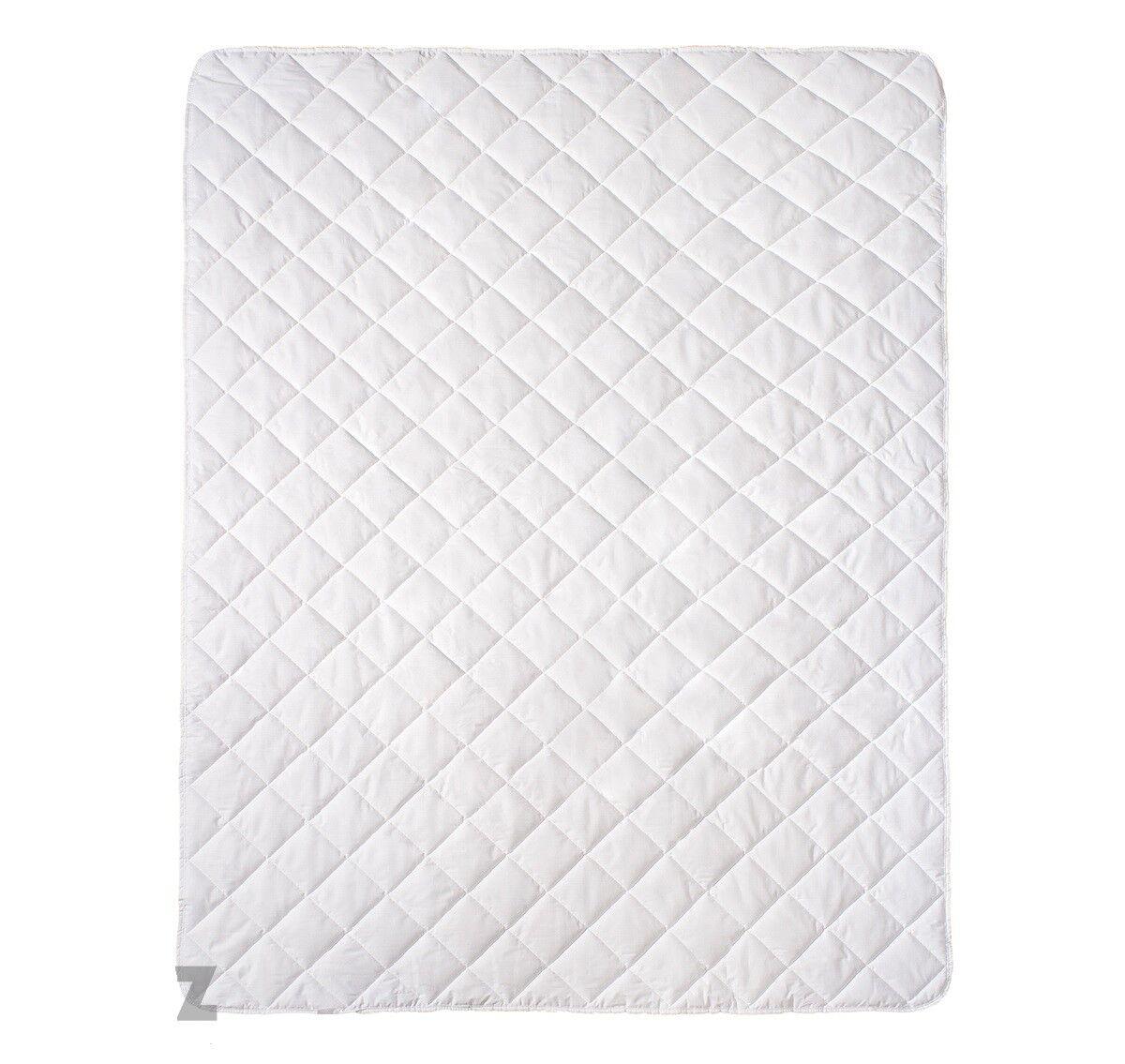 Matratzenauflage für Kinderbett Topper Matratzenschoner Matratzenschutz Auflage