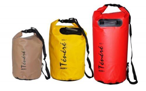 Drybag Seesack Transportsack Gepäckrolle Ténéré  30L wasserdicht Rot 20189
