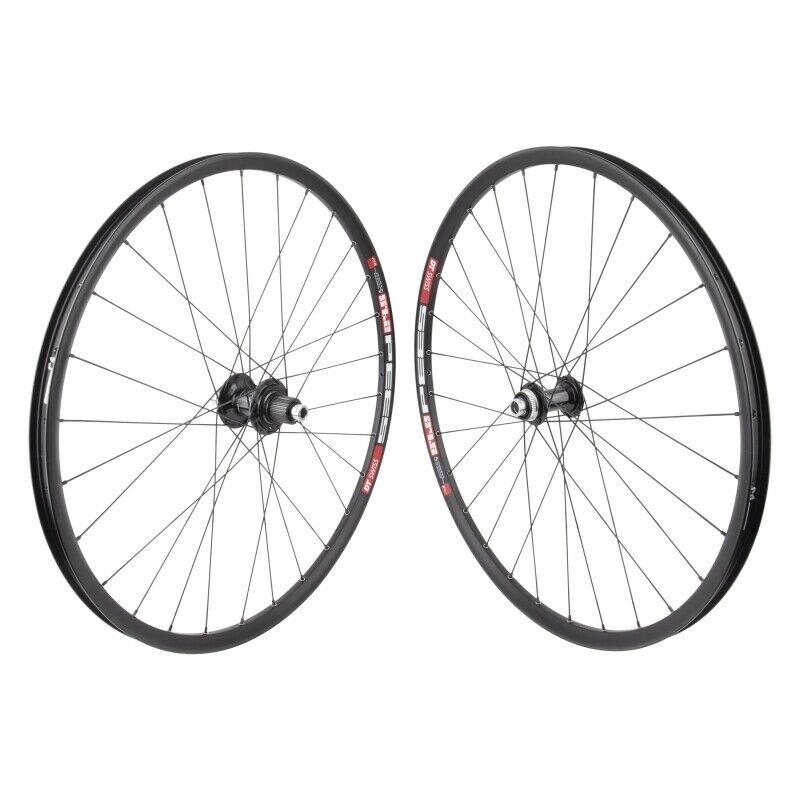 "Image 1 - DT 533D 650b 27.5"" MTB Wheelset 15x100mm 12x142mm Black Shimano Microspline 28h"