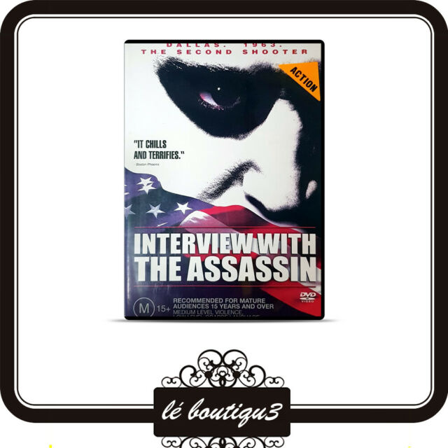 Interview WIth The Assassin DVD Dallas 1963 Shooter