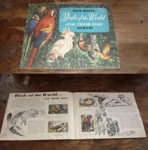 1950s-AUSTRALIAN-VITABRITS-BIRDS-OF-THE-WORLD-SET-OF-30-CARDS-IN-BOOKLET