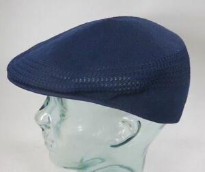 898b96c65 Details about Kangol Tropic Ventair Flatcap 504 Cap Blue Navy Hat Kangol  Cap Kangol Cap New