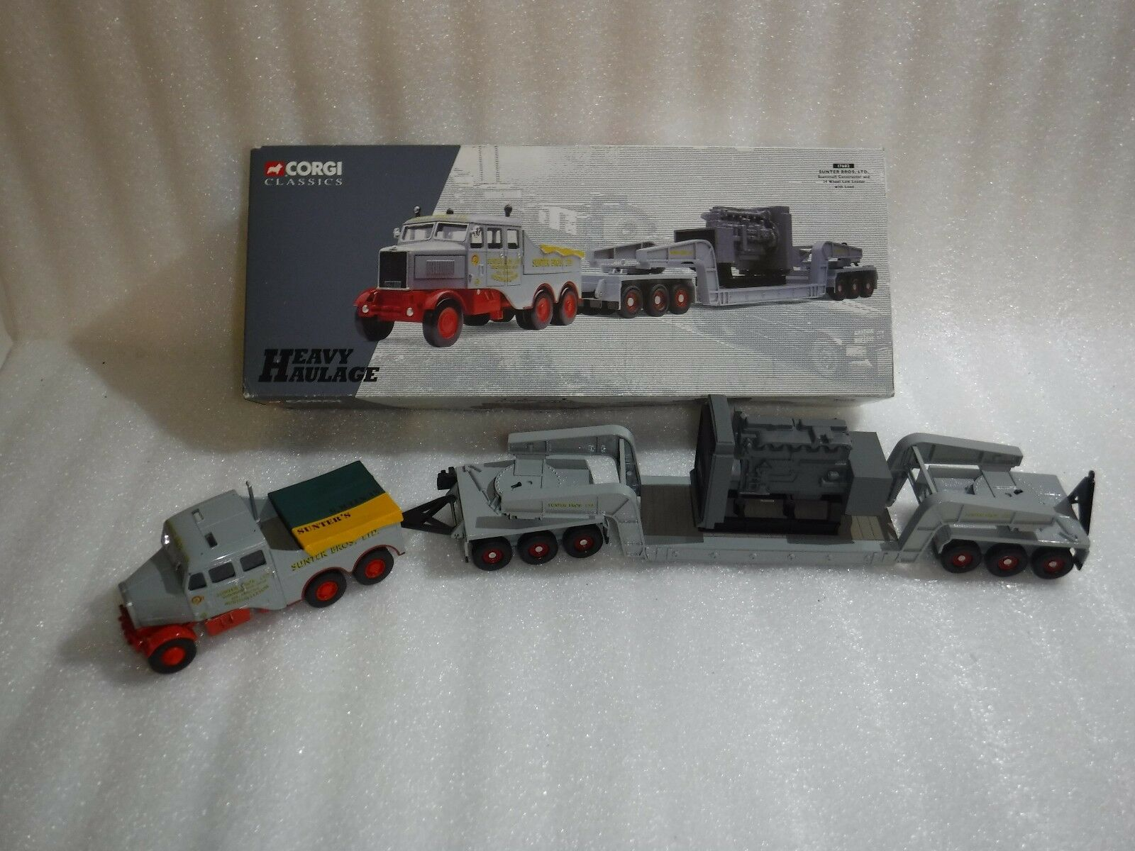Corgi Classics 17602 Scammell Scammell Scammell Constructor + 24 Wheel Loader & Load  Mint In Box 16a1c9