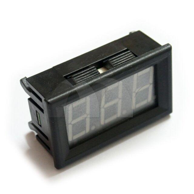 "0.56"" LED Digital DC Ammeter AMP Mini Current Panel Meter DC 0-10A"