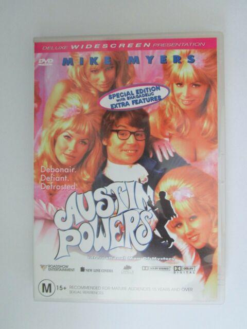 Austin Powers International Man Of Mystery - DVD - Region 4