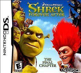 Shrek Forever After The Final Chapter Nintendo Ds 2010 For Sale Online Ebay