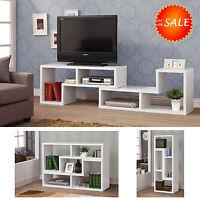 Modern Tv Stand Console Media Storage Cabinet Shelf Home Entertainment Furniture