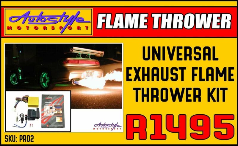 Exhaust Flame Thrower Kit DIY  Autostyle Motorsport now offers FITMENT while you wait. Car audio ins