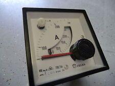 CELSA Amperemeter Stromuhr Anzeigetafel Amper Anzeige / 3 Stück