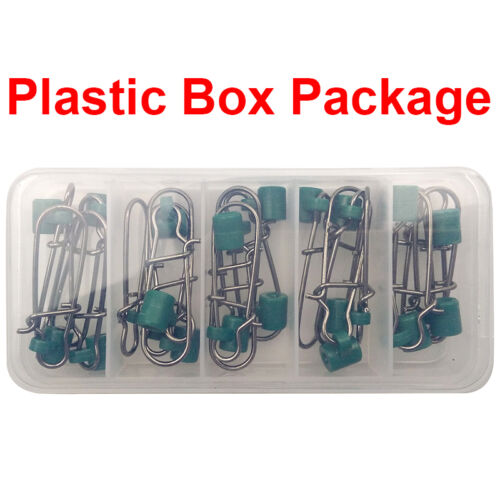 25pcs//box High Strength Sinker Slides with 8# SS Nice Snap Good for Braid Line