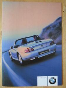 Bmw Orig 2000 Uk Market Dealership List Brochure Z3 Roadster