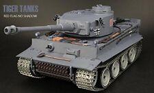 1:16 German Tiger I RC Tank Ultimate Metal Version 2.4GHz Smoke & Sound New