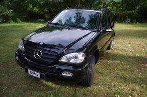 Mercedes-M-Klasse-ML-270CDI-W163-Einer-wie-Keiner-SUV-Gelaendewagen-Luxus-Paket