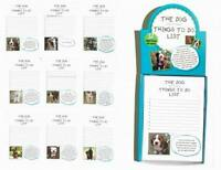 """Lot Of 40 Pads - """"things To Do"""" List Doggy Note Pads"""