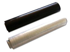 Stretchfolie-Palettenfolie-300m-x-50cm-Schwarz-amp-Transparent-EXTRA-STARK-TOP