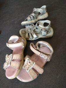 2 Paires de chaussure Rose et Grise ENFANT   Pointure 21 et 22 ... d631b7d7da7e