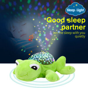 Kids-Night-Light-Star-Sky-LED-Projector-Rotating-Master-Magic-Lamp-Frog-Toys-GG