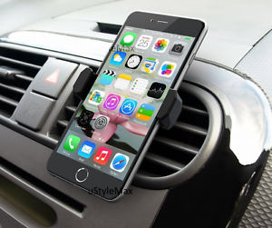 Universal-Mobile-Phone-360-Rotating-In-Car-Air-Vent-Mount-Holder-Cradle-Stand-UK