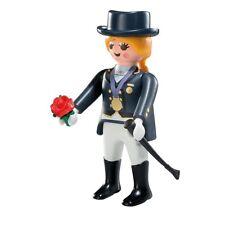 Playmobil Mystery Figure Series 7 5538 Equestrian Horse Jockey Winner Rider Rose