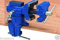 Gunsmithing Locksmith Blacksmith Table Swivel Vise Vice Metal Wood