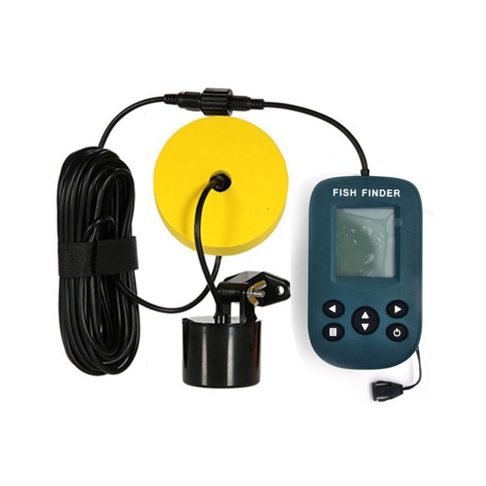 100m Smart Portable Fish Depth  Finder Sonar Sensor Lake Sea Fishining Detector  store