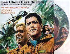 JOHNNY HALLYDAY VINYL LP - LES CHEVALIERS DU CIEL - PICTURE DISC