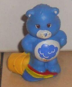 1984 Kenner Care Bears Goodluck Bear Mini Pvc Figure Vintage 80/'s