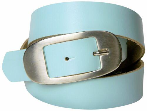 ca FRONHOFER günstiger Gürtel in Sommerfarben mit ovaler Gürtelschnalle 3 cm