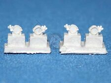 Tank Workshop 1/35 Sherman Hull Tow Cable Clamps Set No.1 (for 2 Tanks) 350121