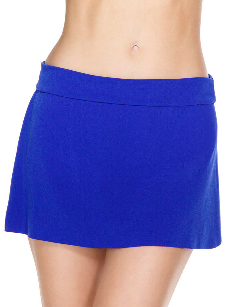 Magicsuit by Miraclesuit Jersey Tennis Skirt Swimsuit Twilight bluee 14 or 16 NEW