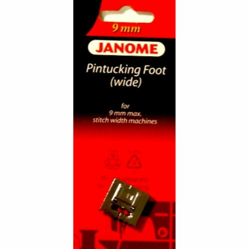 Janome Sewing Machine Pintuck Foot Wide for 9mm Models New