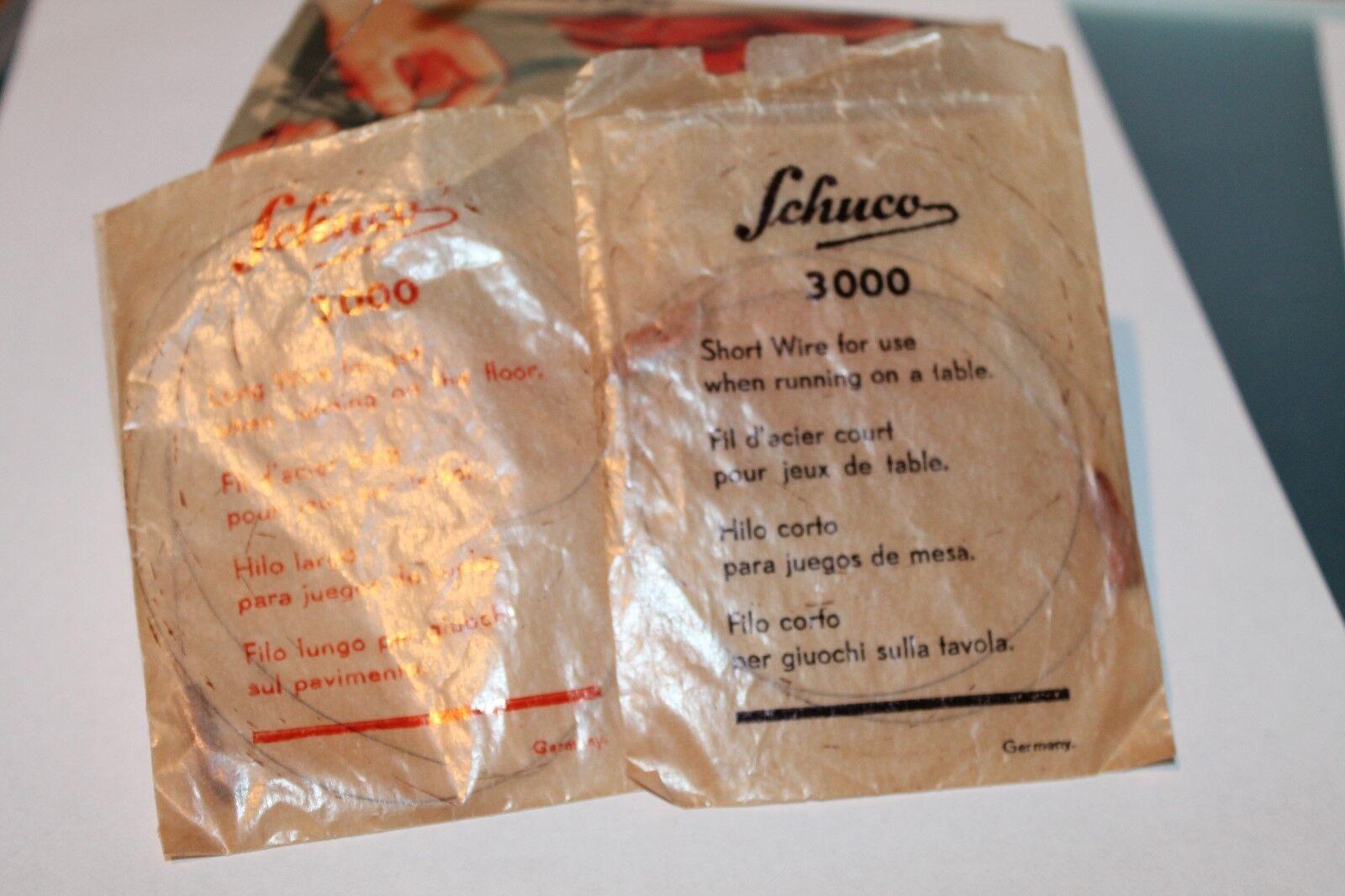 Schuco * fernlenkauto 3000 * * * * completamente intacto * rareza * versión inglesa bfe696