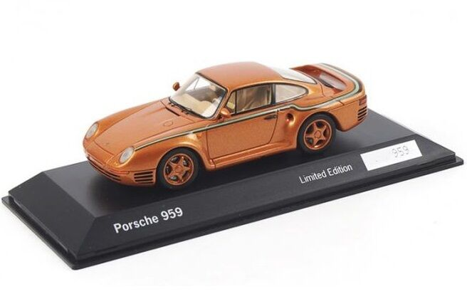 Porsche 959  or - 30 Years Anniversary  (Spark 1 43   WAX02020003)