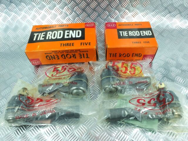 OUTER & INNER  TIE ROD ENDS 555  FIT FOR DATSUN P510 510 610 BLUEBIRD