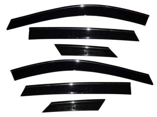 796003 fits 10-16 SRX R Low Profile Deflector 6 pc Side Window Vent-Ventvisor