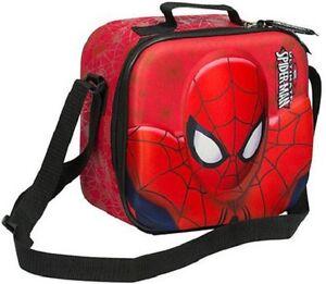 b80227cdeedb Details about 3D Ultimate Spiderman Lunch Bag Lunch Pack Set Bag Kids Boys  Girls Sandwich box