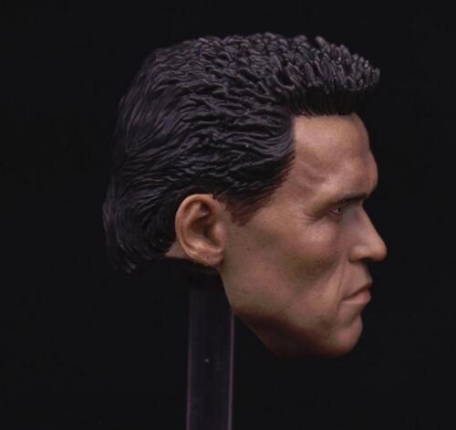 Custom 1//6 Arnold Schwarzenegger Head Sculpt 2.0 Terminator T800 for PHICEN M34