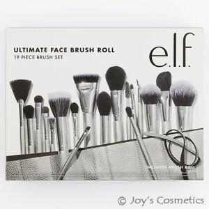 1 elf ultimate face brush roll  19 piece brush set