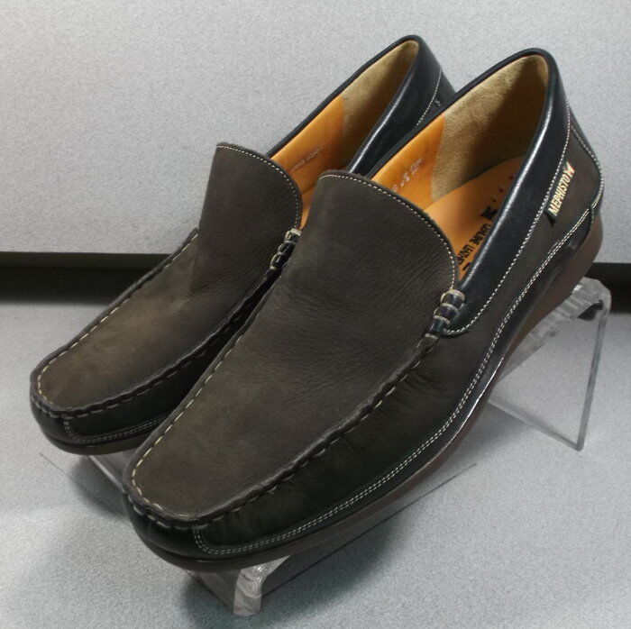BADUARD BROWN MMPF60 Men's shoes Size 11.5 M () Suede Slip on Mephisto