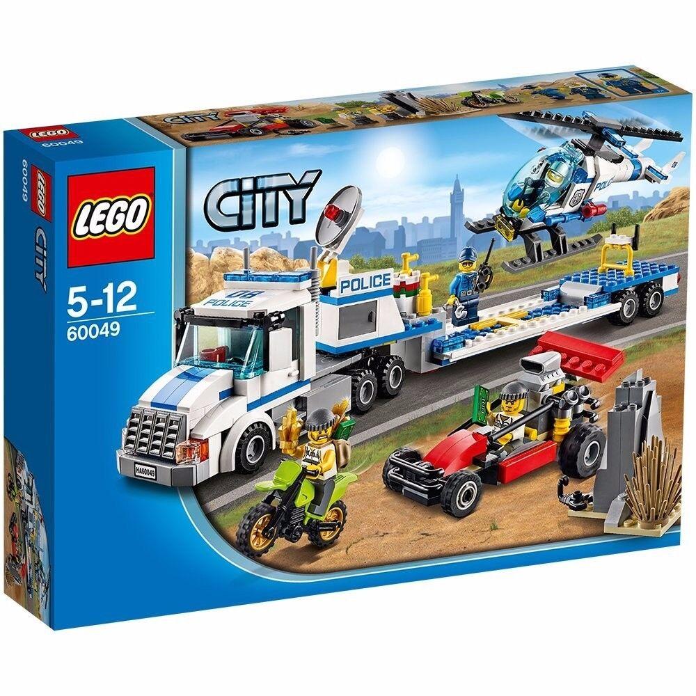 LEGO ® City 60049-Police-Hélicoptère-Téléporteur    NEUF & Non ouvert 35e863
