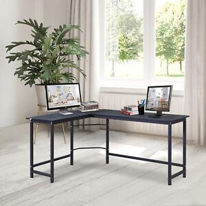 L-Shaped-Gaming-Desk-Computer-Desk-Wood-Corner-PC-Workstation-Large-Home-Office