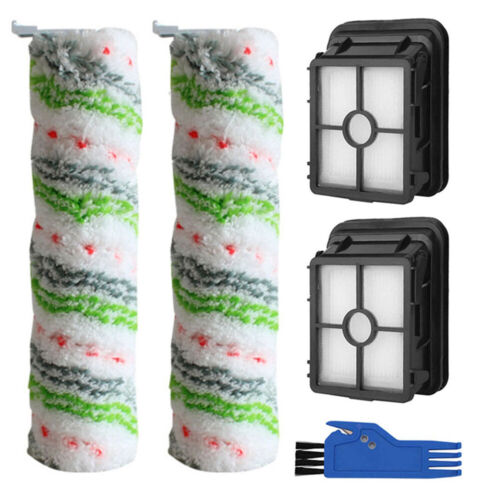 Roller Brush Filter For Bissell Cross Wave Cordless Max Series 2554 2590 2593