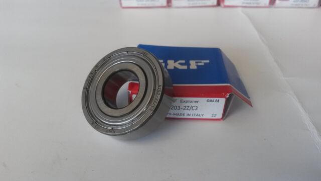 6203-2Z/C3 SKF Ball Bearing 6203 ZZ 17x40x12 mm deep groove ball bearing
