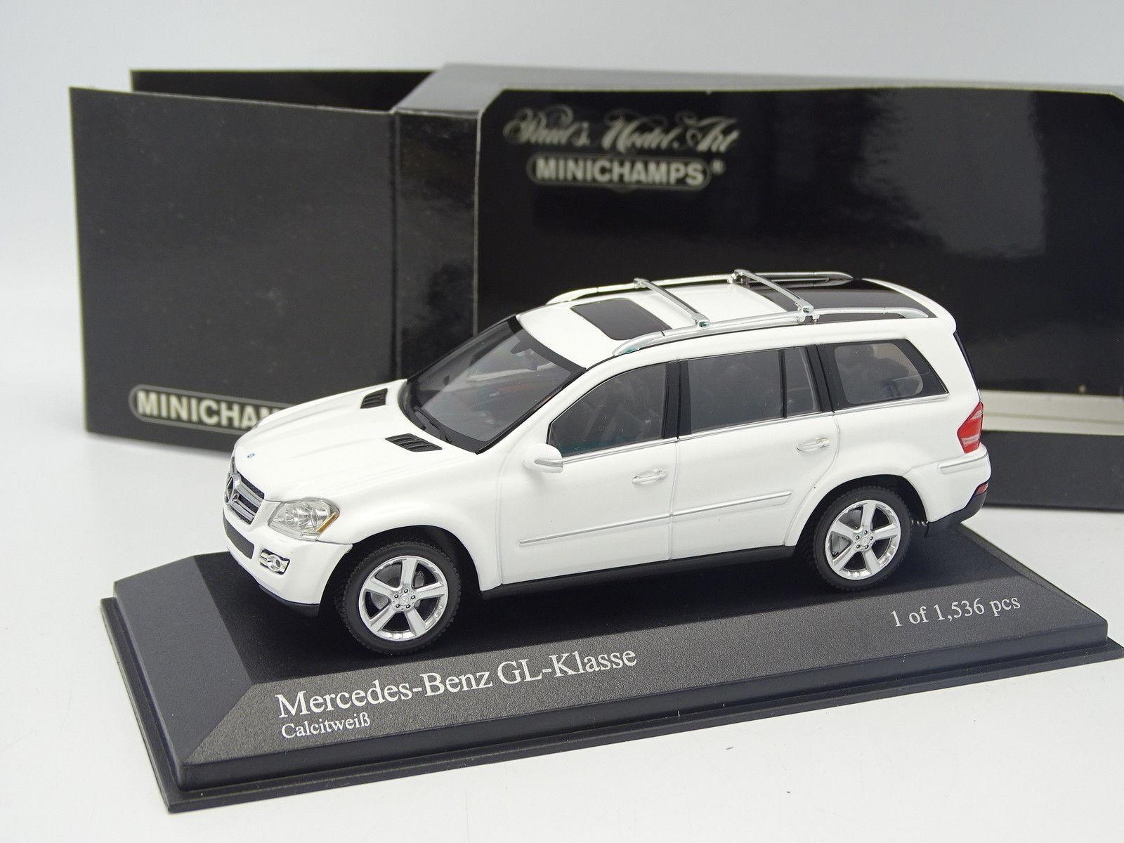 Minichamps 1 43 - Mercedes GL Blanche