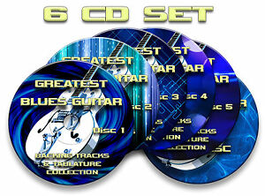 6x-CD-GREATEST-BLUES-GUITAR-AUDIO-BACKING-JAM-TRACKS-amp-TABLATURES-TABS-SONG-BOOK