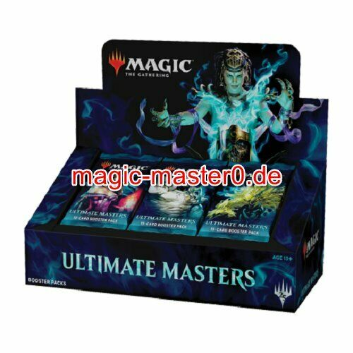 MTG ULTIMATE MASTERS Magic Booster Display Box englisch OVP
