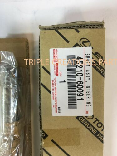 45210-60091 OEM GENUINE TOYOTA MAIN SHAFT STEERING 4521060091