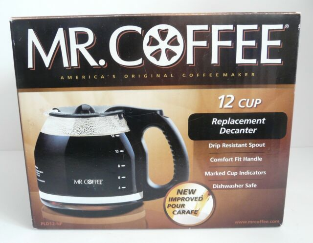 New Mr Coffee 12 Cup Replacement Decanter In Box