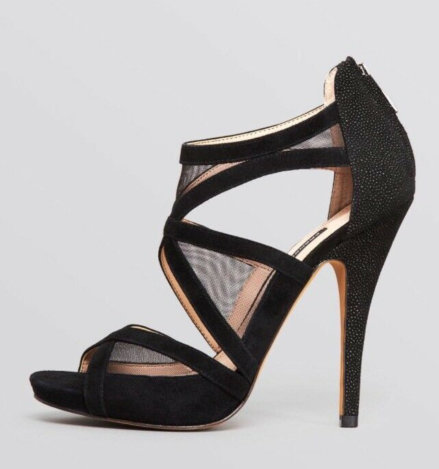 NWOB French Connection Open Toe Evening Sandals Delano Size 8.5  129